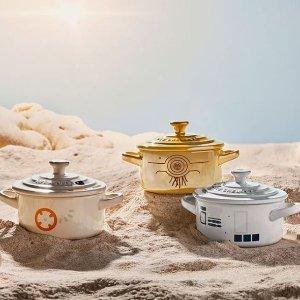 新品预告:Le Creuset 星战系列珐琅铸铁锅、厨具等即将上市