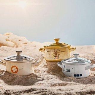 11月1日开售 愿原力与你同在新品预告:Le Creuset 星战系列珐琅铸铁锅、厨具等即将上市
