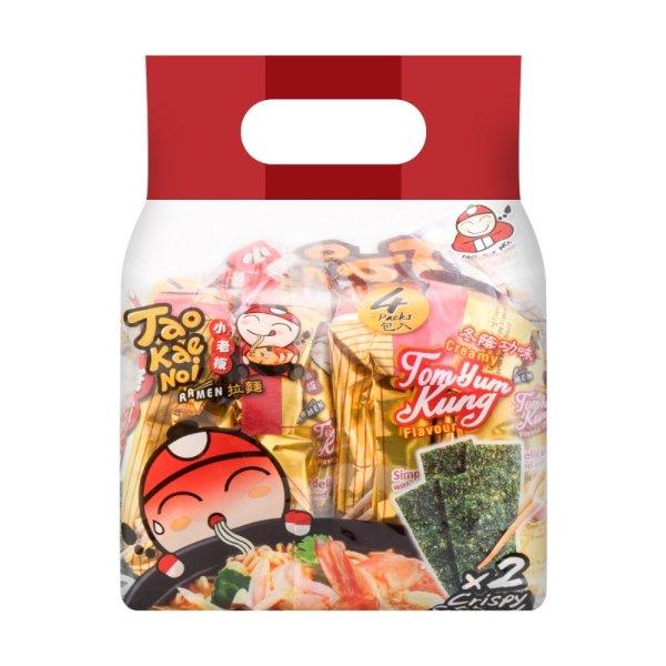 泰国小老板 海苔脆紫菜拉面 冬阴功味 4包 360g