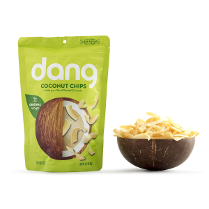 $3.54 + Free ShippingDang Toasted Coconut Chips Original 3.17 Ounce