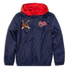 低至3折 持续更新最后一天:儿童服饰促销区特卖 封面Ralph Lauren外套3折收