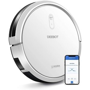 ECOVACSDEEBOT N79T Robotics Vacuumer Clean 3-Stage Cleaning System App Control