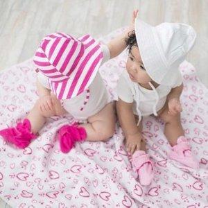 7折+额外7.5折最后一天:Zutano 宝宝纱布包巾、小毯子特卖 平价好货,AA替代款