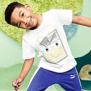 低至7.5折+额外7折PUMA官网 儿童Monster Pack系列服饰鞋履热卖