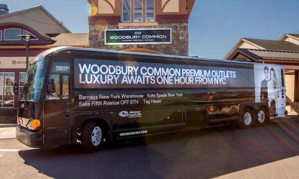 纽约Woodbury奥莱往返大巴
