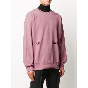 AMBUSH2刺绣卫衣 粉色