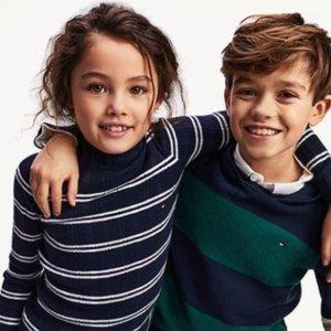 低至6折+额外5折Tommy Hilfiger儿童服饰清仓热卖 经典美式休闲风