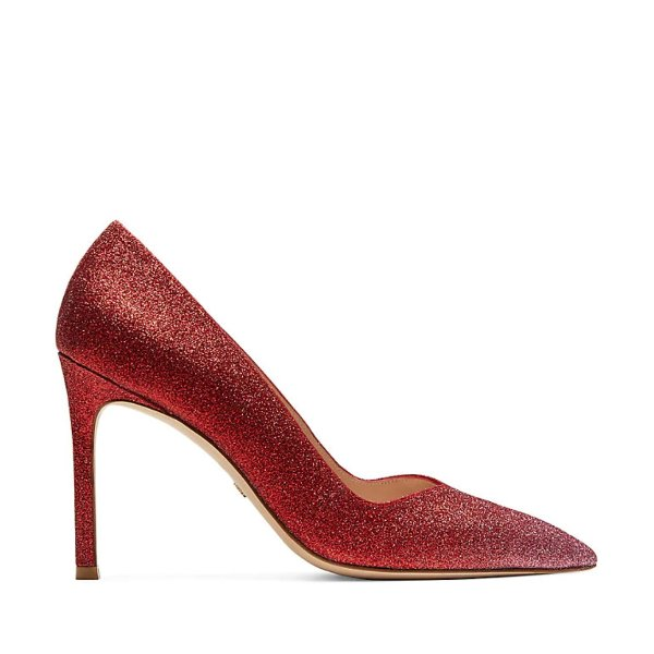 ANNY 亮片高跟鞋