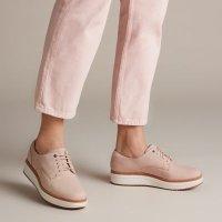 Clarks 厚底鞋