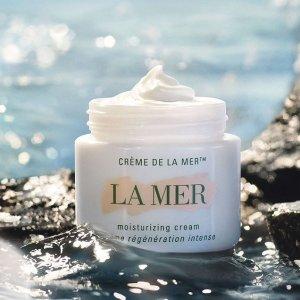 无门槛8.5折+满送面霜独家:La Mer 美妆护肤热卖 收新款修复精粹乳、多款套装
