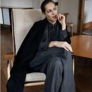 低至3折+免邮 羊绒混纺$39限今天:Massimo Dutti 质感美衣特卖 衬衫$25 羊毛大衣$129