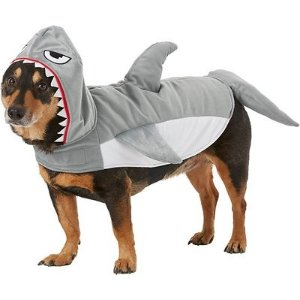 FRISCOGreat White Shark Dog & Cat Costume, Large - Chewy.com