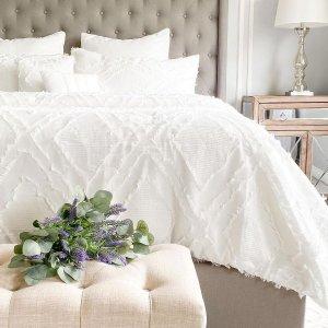 低至5折 浴室地毯$9.95Linen Chest 居家用品 $49.95收床品4件套 不粘锅$9.99起