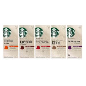好价¥319Starbucks 哥伦比亚浓缩胶囊咖啡 120粒装