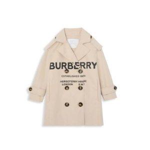 Burberry女童风衣