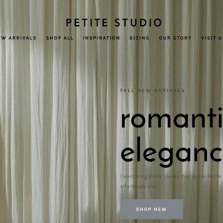 Petite Studio的胶囊衣橱 | 五件单品=五套通勤Look