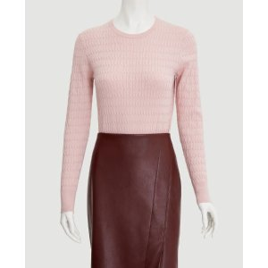 Ann TaylorCable Textured Sweater