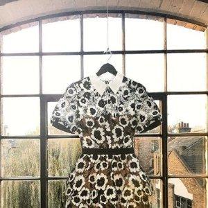 6折 收新款Self-Portrait 女士美衣热卖,入超仙花朵上衣,蕾丝毛衣