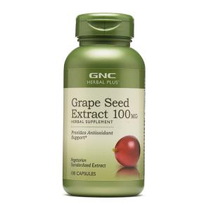 3瓶$24.99,1瓶只要$8.33即将截止:GNC 葡萄籽精华 100MG 100粒 抗氧化