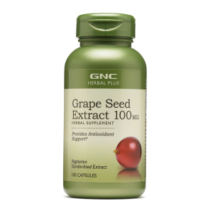 3 for $24.99GNC Herbal Plus® Grape Seed Extract 100MG 100 Capsules