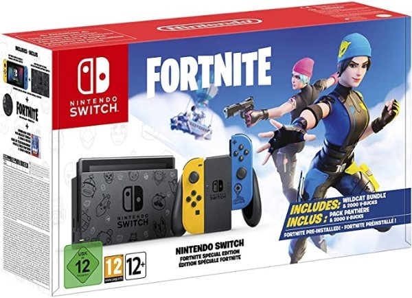 《堡垒之夜》Nintendo Switch 限定主机