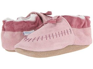 Robeez Cozy Moccasin Soft Soles (Infant/Toddler) at Zappos.com