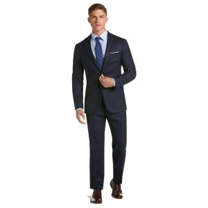 Buy 1 Get 1 Free1905 Collection Slim Fit Stripe Suit with brrr° comfort - Ready for Anything | Jos A Bank