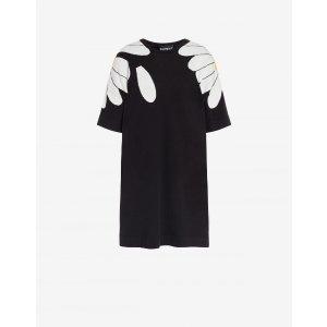 MoschinoKnit dress Daisy - Dresses - Clothing - Women - Boutique Moschino | Moschino Official Online Shop