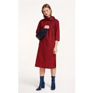 Henda Korpikuusi dress - purple, red - All New - New - Marimekko.com