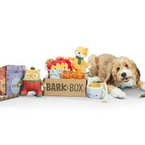 Double your boxWith the Purchase of a 6-, 12-Month Subscription @ Barkbox