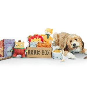 首月礼盒内容物翻倍Barkbox 狗狗神秘订阅礼盒 为你家汪星人准备的专属礼物盒
