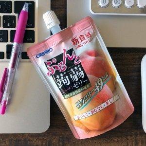 凑单必备 8包整箱$9.3起ORIHIRO 蒟蒻果冻热卖 低卡零食 10%纯正果汁 多款果味选择