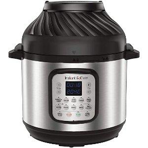 instant pot电高压锅+空气炸锅 2合1