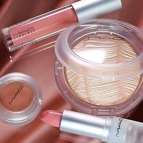 断货前速抢上新:MAC Loud and Clear系列上线 透明彩妆打造高级裸色春妆
