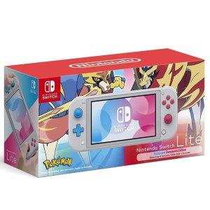 $259.99 这时代唯一的掌机Nintendo Switch Lite《宝可梦 剑/盾》限定版 开始预售