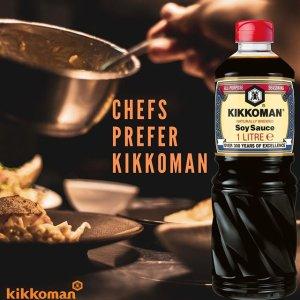 仅售€9.2包邮KIKKOMAN 万字酱油 1升装