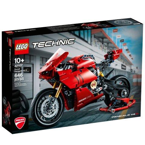 £54.99 英国官网 6.1上市预告:Lego官网 Ducati Panigale V4 R杜卡迪公升级机车炫酷发布