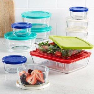 $27.99 Pyrex 22 Piece Food Storage Container Set