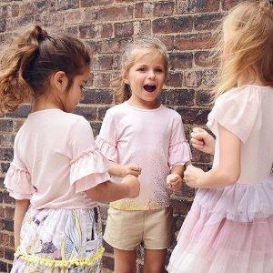 公主裙$44收 小众大牌低至3折小众公主风连衣裙 童装也要自带仙气