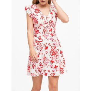 Banana RepublicLinen-Cotton Button-Front Mini Dress