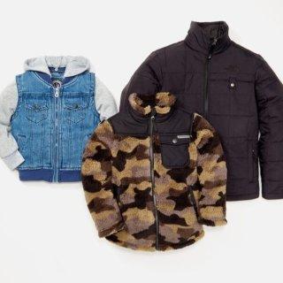 低至$17.97Hautelook 男童外套特价热卖,有 MK 和北脸