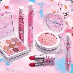 7.5折起 收阿娇同款最后一天:M.A.C 全场美妆大促 超美樱花系列特卖 给你夏日美人妆