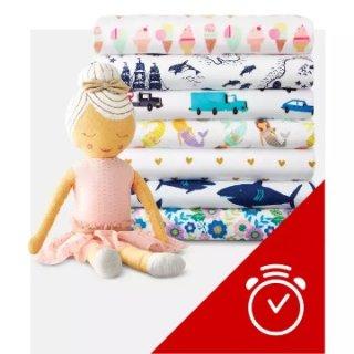 7.5折Target 儿童房间装饰品大促销 各种小萌物虏获你的心