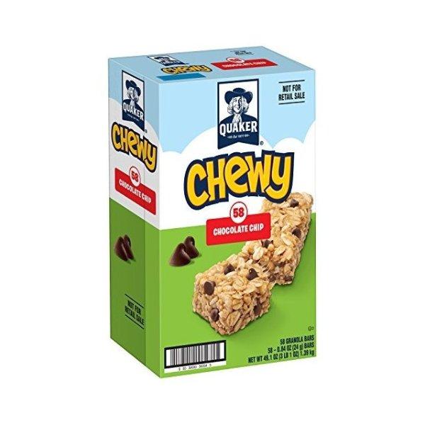 Chewy Granola 巧克力碎块燕麦棒 0.84 Ounce 58条