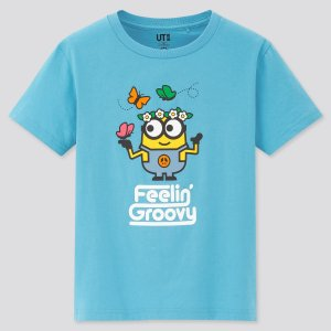 UniqloMINIONS 2 UT 儿童T恤