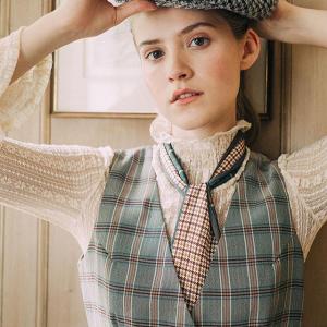 独家8.5折 复古格纹半身裙£49Miss Patina X Sherlock Holmes典藏系列上架 传统英伦风美衣收起来