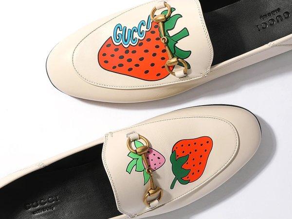 女士草莓乐福鞋 4.5码