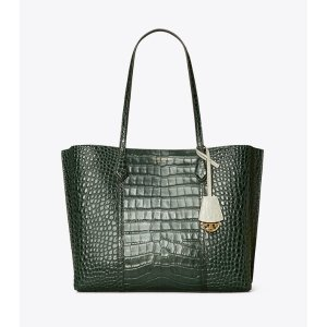 Tory BurchPerry Embossed Triple-Compartment Tote Bag