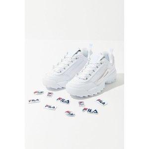FILA 白色老爹鞋