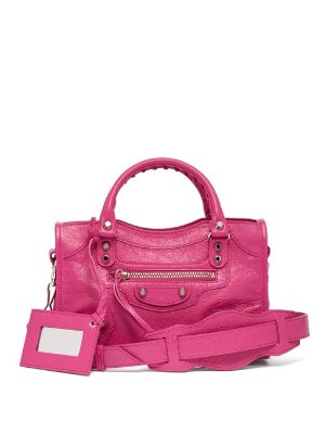 Balenciaga Classic City Mini Leather  Bag In Pink | ModeSens
